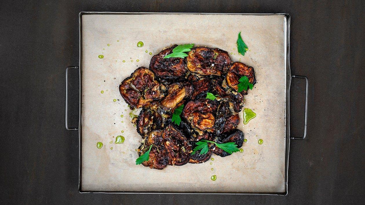 Misobakad aubergine