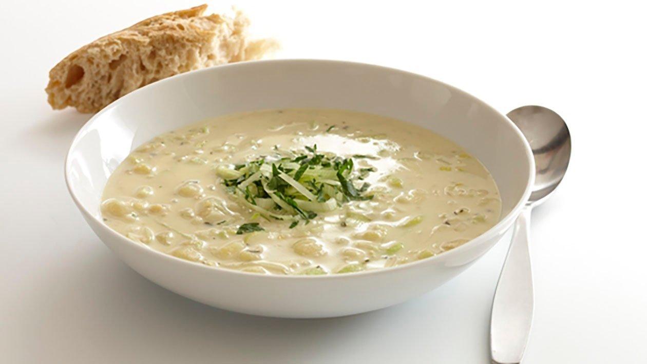 Potatis och purjolöksoppa, klimatsmart mat