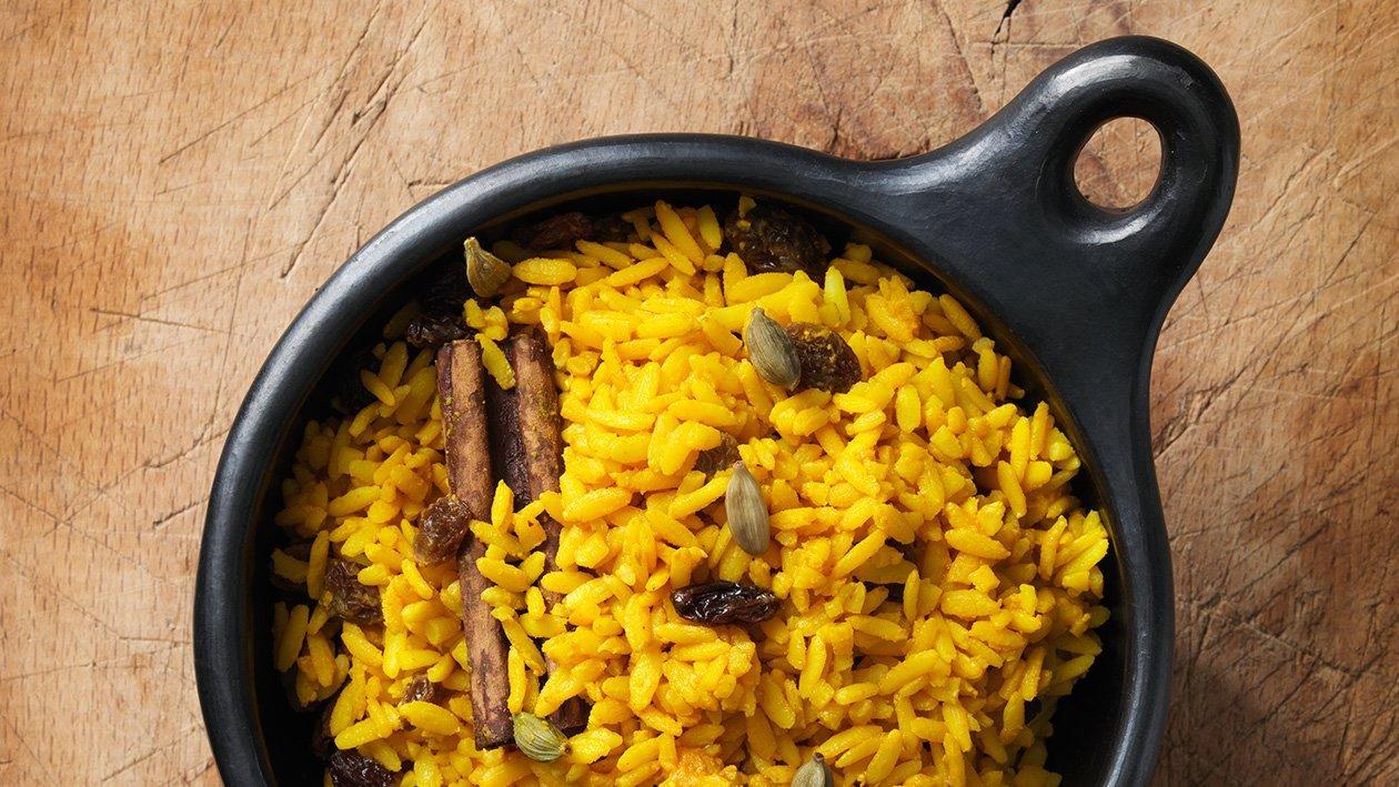 Sydafrikanskt aromatiskt gult ris