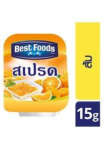 สเปรดส้ม ตราเบสท์ฟู้ดส์ 15 ก -