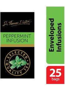 เซอร์โธมัส เจ. ลิปตัน เปปเปอร์มินต์ เฮอร์บัล อินฟิวชั่น (เครื่องดื่มสมุนไพรเปปเปอร์มินต์) 1.5 ก -