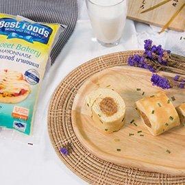 ขนมปังโรลหมูหย็องมายองเนส