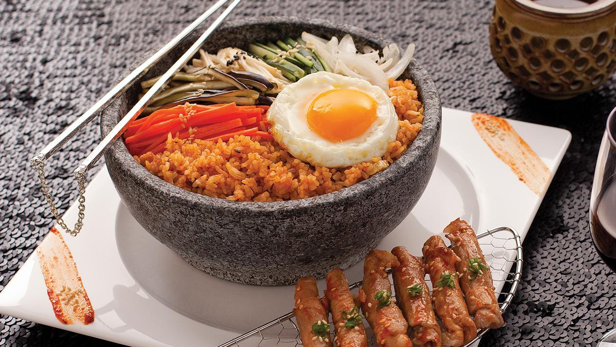 ข้าวผัดกิมจิไฮโซล