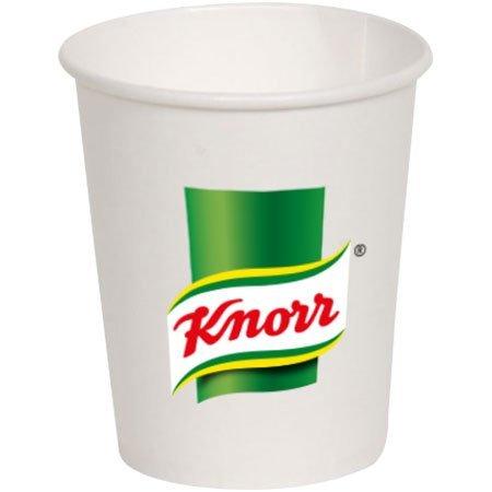 500 Adet Knorr Karton Çorba Bardağı -