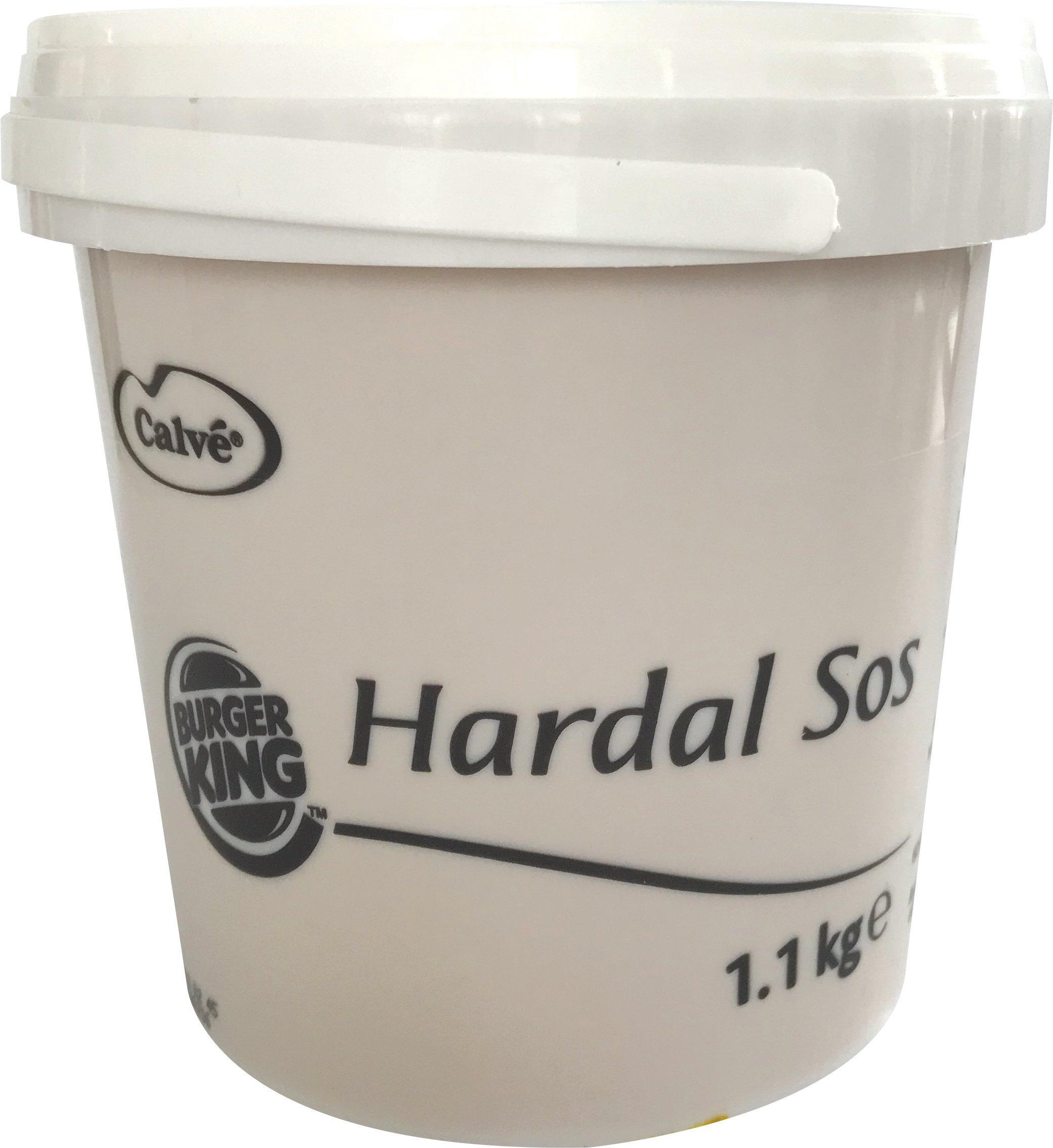 Burger King Hardal Sos 1,1 Kg