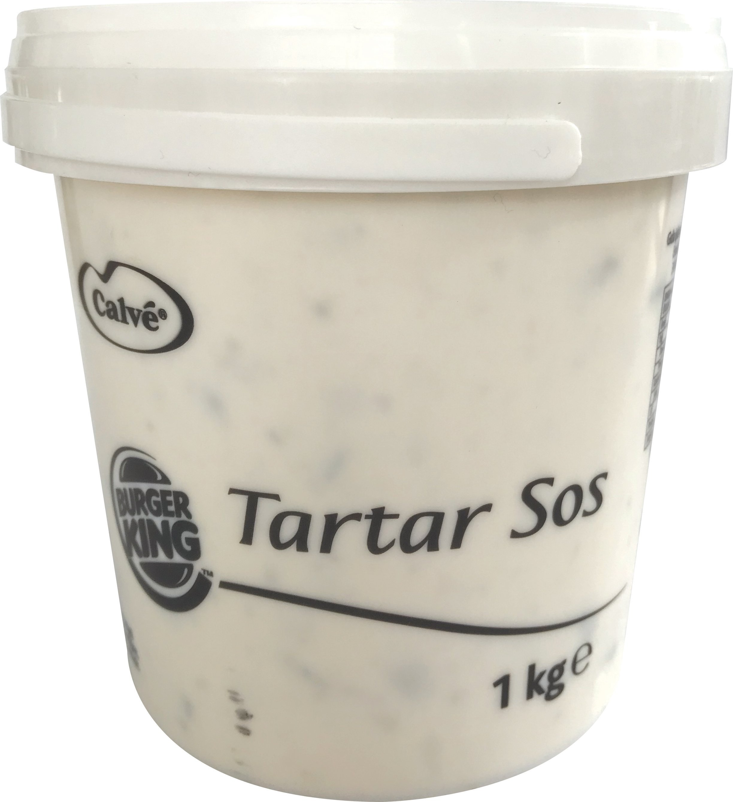 Burger King Tartar Sos 6x1 Kg