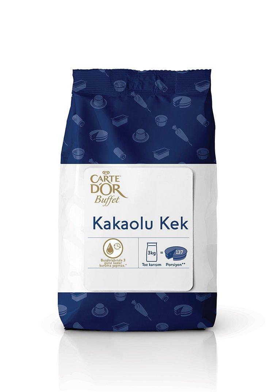Carte D'or Yeni Buffet Serisi - Kakaolu Kek 3 Kg