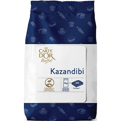 Carte D'or Yeni Buffet Serisi - Kazandibi 3 Kg