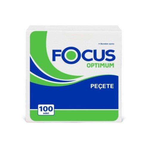 Focus Optimum 100 Yaprak Paket Kağıt Peçete 32'li