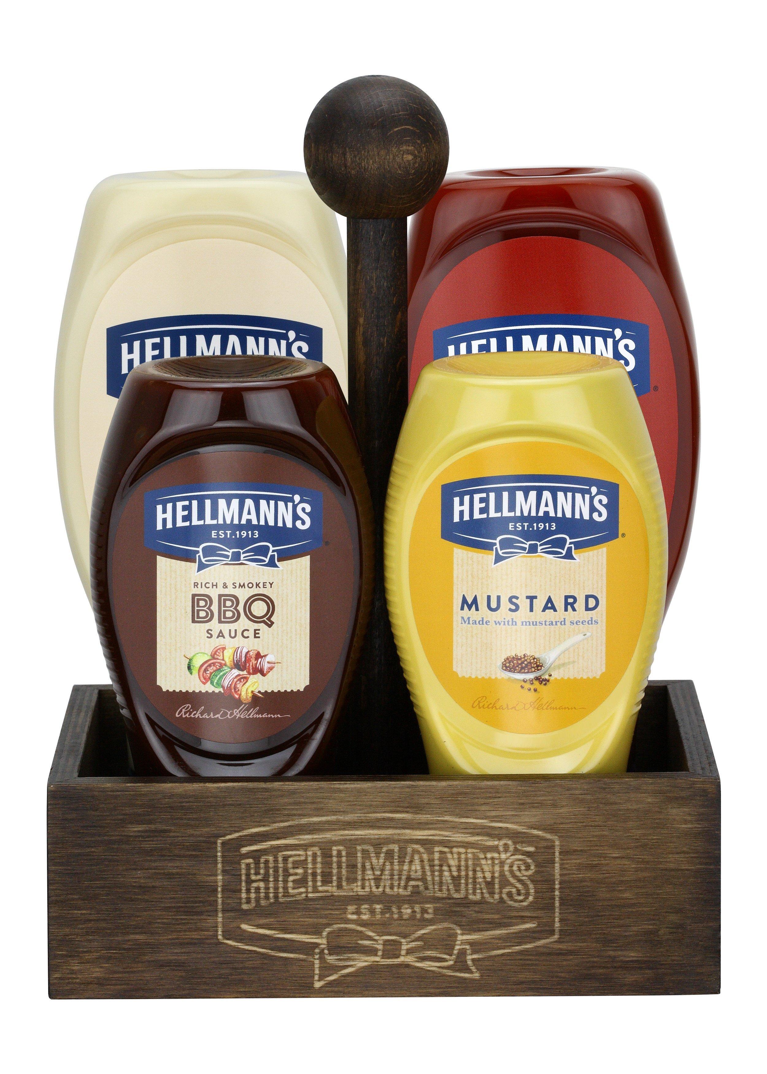 Hellmann's 4'lü Set
