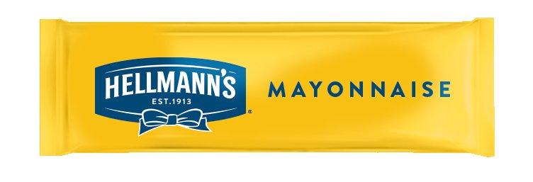 Hellmann's Porsiyonluk Mayonez 616x9g -