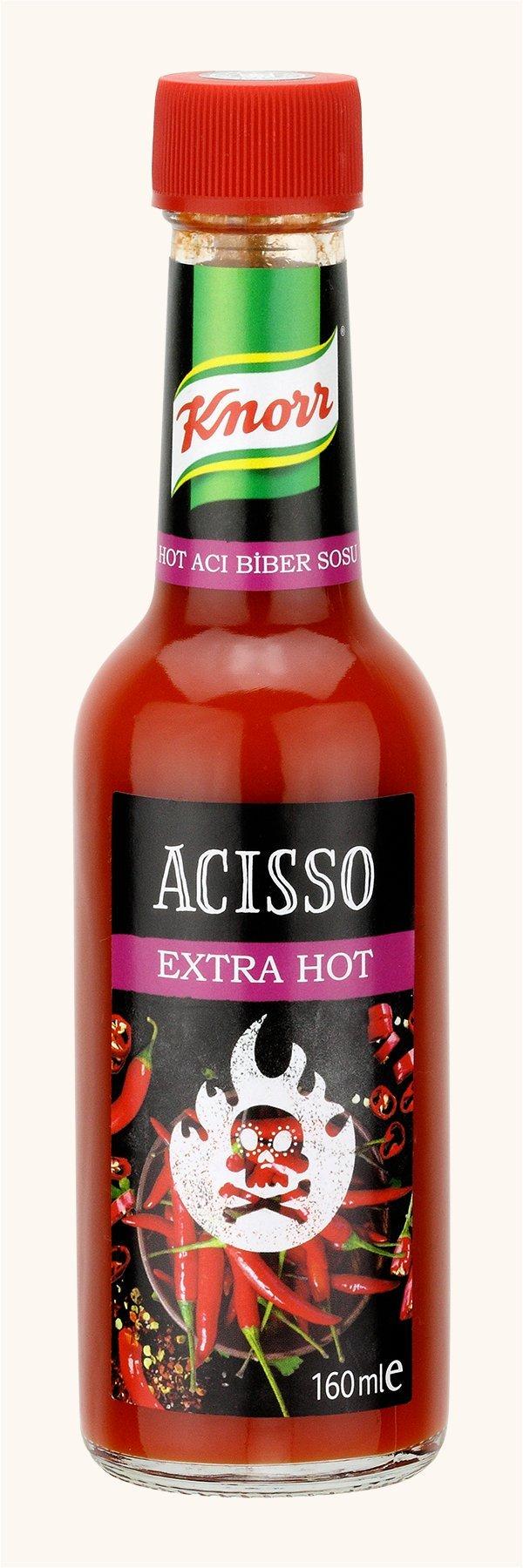 Knorr Acısso Extra Hot Acı Biber Sosu