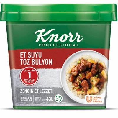 Knorr Et Suyu Toz Bulyon 750 g