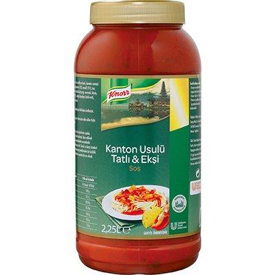 Knorr Kanton Usulü Tatlı Ekşi Sos 2,25 l -
