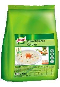 Knorr Kremalı Sebze Çorbası 3 kg