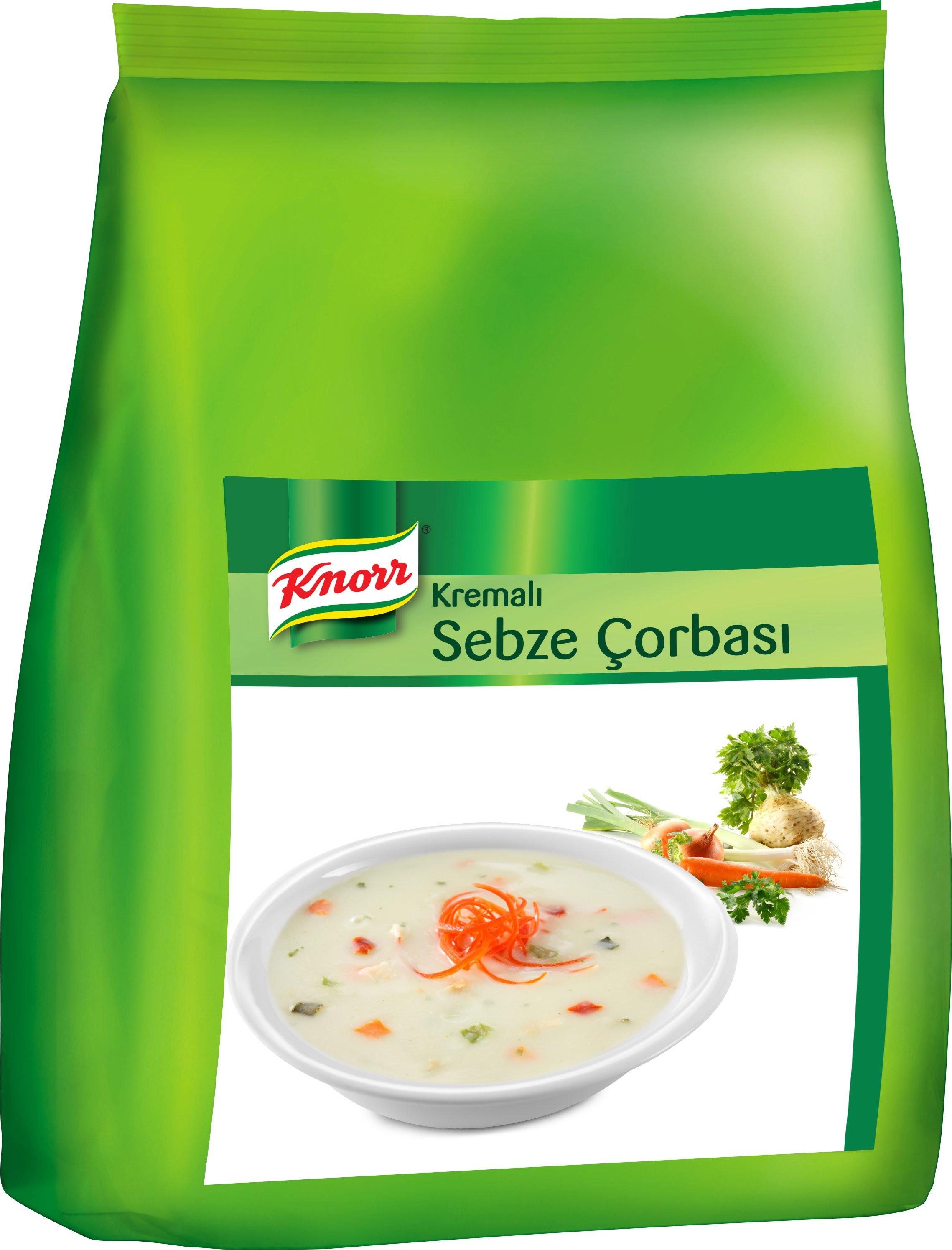 Knorr Kremalı Sebze Çorbası 3 kg -