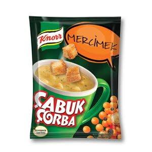 Knorr Mercimek Çabuk Çorba 22 g