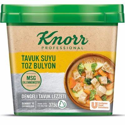 Knorr MSG Eklenmemiş Tavuk Suyu Toz Bulyon 750 g