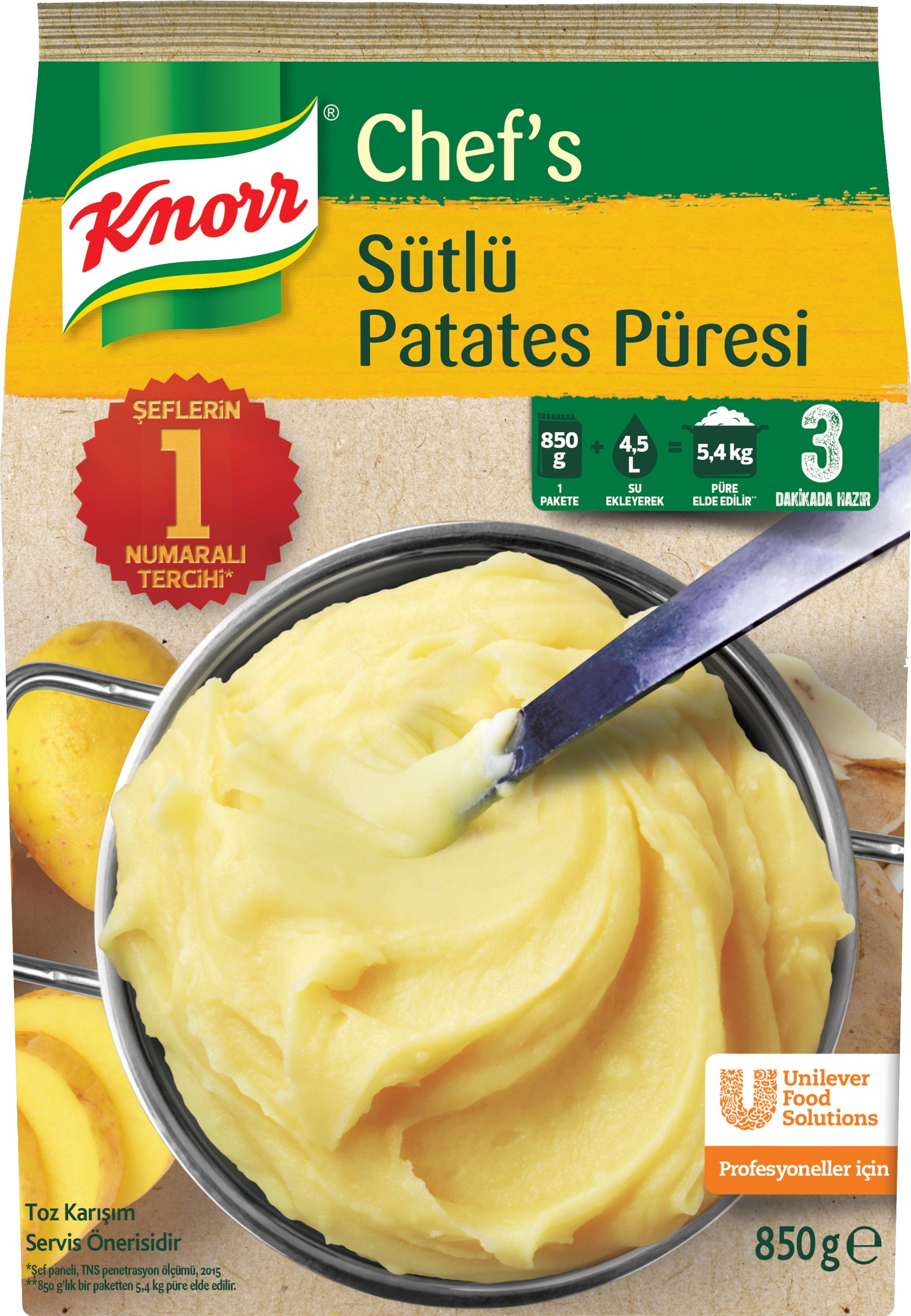Knorr Pratik Patates Numune