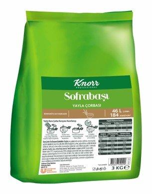 Knorr Sofrabaşı Yayla Çorbası 3 kg -