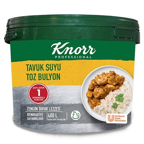 Knorr Tavuk Suyu Toz Bulyon 7 Kg -
