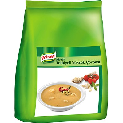 Knorr Terbiyeli Yüksük Çorbası 3 kg -