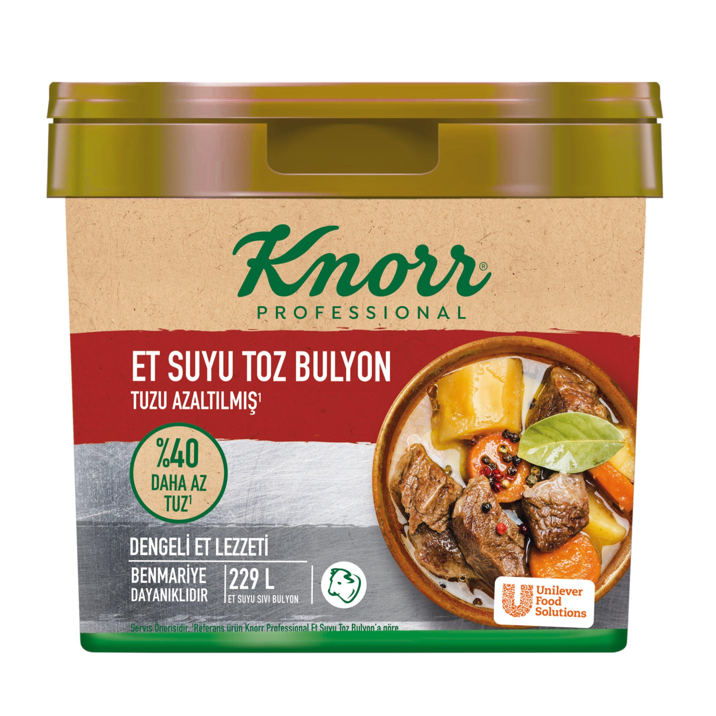 Knorr Tuzu Azaltılmış Et Bulyon 4 kg -