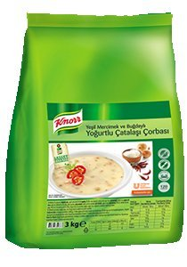 Knorr Yoğurtlu Çatalaşı Çorbası 3 kg