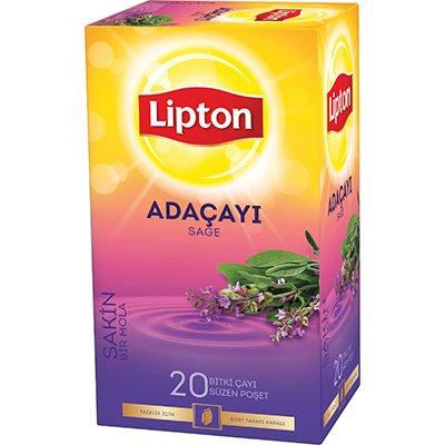 Lipton Adaçayı Bardak Poşet Çay 20'li -