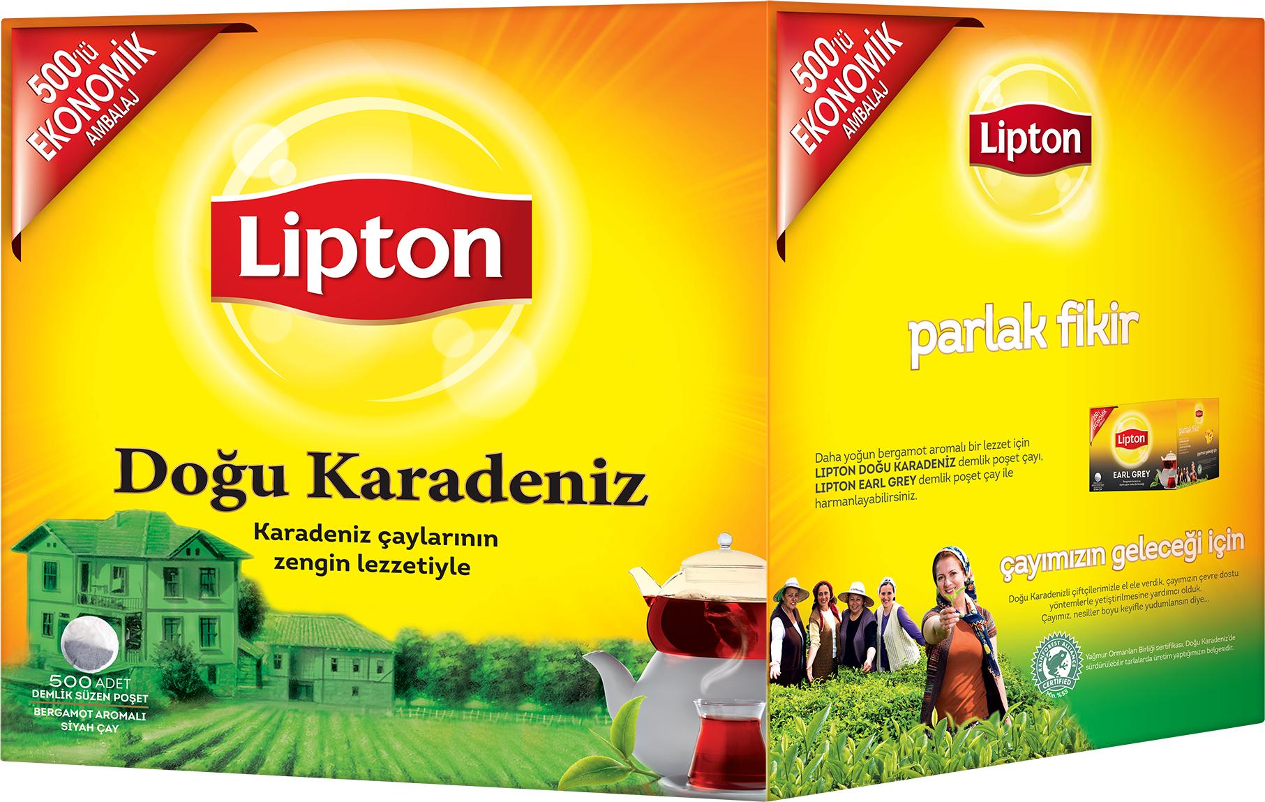 Lipton Doğu Karadeniz 500'lü Demlik Poşet Çay