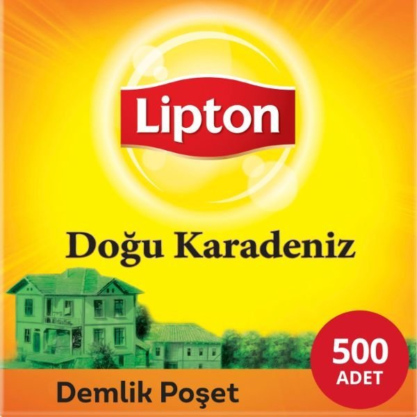 Lipton Doğu Karadeniz Demlik Poşet Çay 500'lü