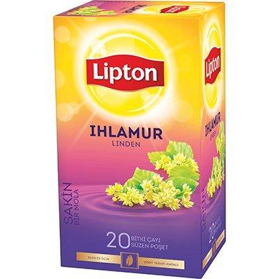 Lipton Ihlamur Bardak Poşet Çay 20'li -