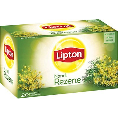 Lipton Naneli Rezene Bardak Poşet Çay 20'li -