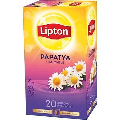 Lipton Papatya Bardak Poşet Çay 20'li -