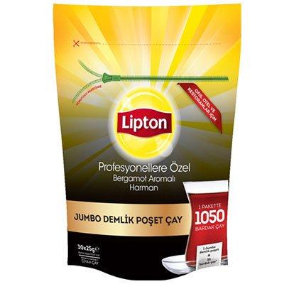 Lipton Profesyonellere Ozel Jumbo Demlik Süzen Poşet Çay -