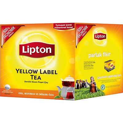Lipton Yellow Label 500'lü Demlik Poşet Çay -