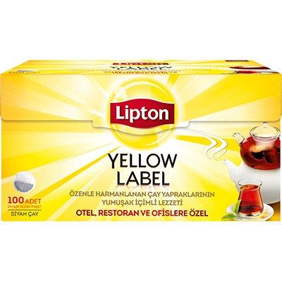 Lipton Yellow Label Demlik Poşet Çay 100'lü -