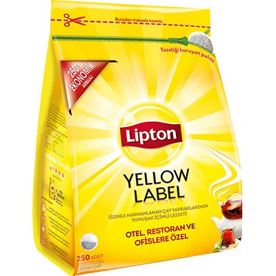 Lipton Yellow Label Demlik Poşet Çay 250'li