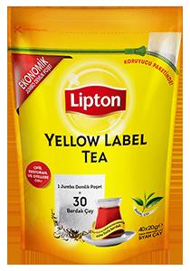 Lipton Yellow Label Jumbo Demlik Poşet