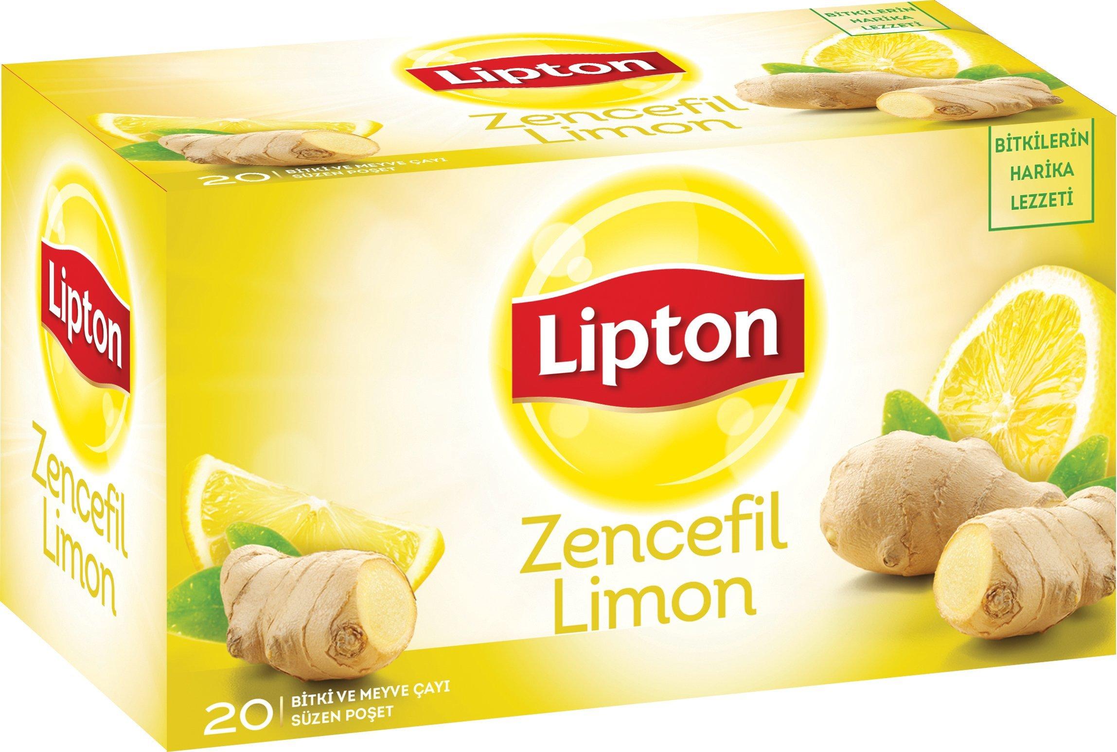 Lipton Zencefil Limon Bardak Poşet 20'li