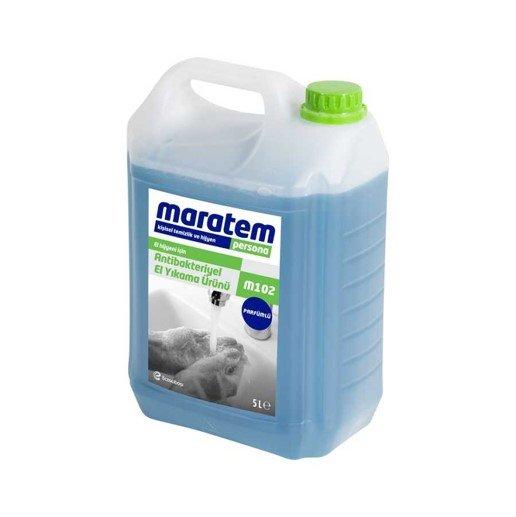 Maratem M102 Antibakteriyel El Yıkama Ürünü 5 l -