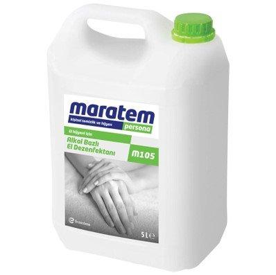 Maratem M105 Alkol Bazlı El Dezenfektanı 5 l