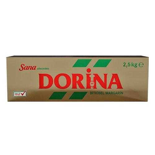 Sana'dan Dorina %82 Yağlı Bitkisel Margarin 2.5 KG -