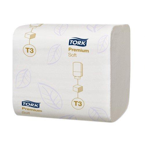 Tork Premium Yumuşak Katlamalı Çift Katlı 252 Yaprak Tuvalet Kâğıdı 30'lu -