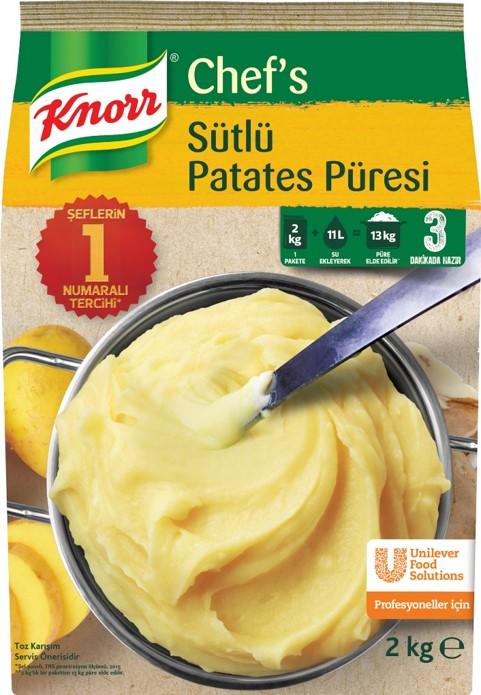 Knorr Chef's Sütlü Patates Püresi 2 Kg