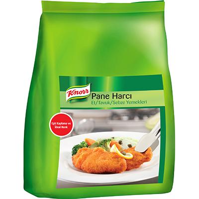 Knorr Pane Harcı 3 kg - Knorr Pane Harcı yumurta kullanımı gerektirmeden tavuklarınızı eşit şekilde kaplamınızı sağlar.
