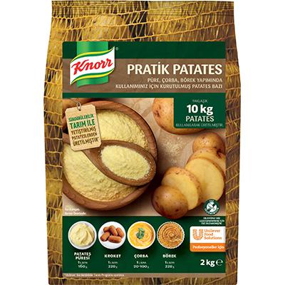 Knorr Pratik Patates 2 Kg