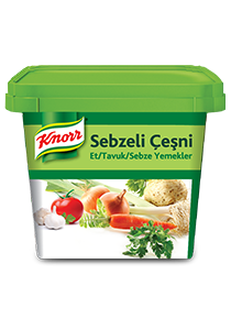 Knorr Sebzeli Çeşni 750 g - Knorr Sebzeli Çeşni ile yemekleriniz dört mevsim aynı kalite ve lezzette.