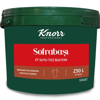 Knorr Sofrabaşı Et Suyu Bulyon 5 kg - Profesyonel Mutfakların Bütçe Dostu Çözümleri