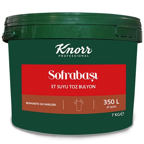 Knorr Sofrabaşı Et Suyu Toz Bulyon 7 Kg - Profesyonel Mutfakların Bütçe Dostu Çözümleri